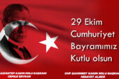 CHP Gaziantep Kadın Kolları: Cumhuriyetimizin 97. Yılını kutluyoruz