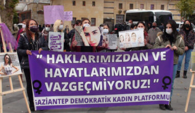 """Gaziantepli Kadınlar: """"Kadın Cinayetleri Politiktir!"""""""