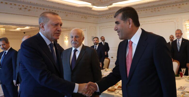 Altunkaya Cumhurbaşkanı Erdoğan'la bir arada