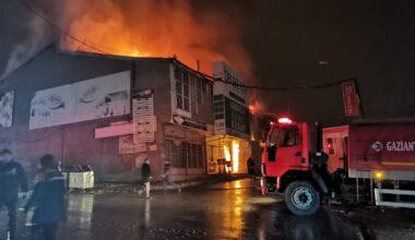 Son Dakika… Gaziantep'te yangın!
