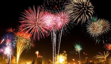 Kutlamaların 'zehirli' gösterisi havai fişek yapımında kullanılan kimyasallar