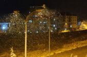 Gaziantep'te beklenen kar yağdı