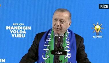 Erdoğan: Allah yolunda öldürüldüler, şehit oldular; biz şimdi kendimize bakalım kendimize, biz ne olacağız