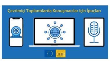 Çevrimiçi Toplantılarda Konuşmacılar için İpuçları