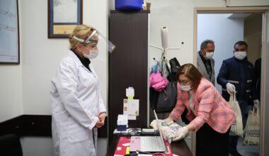 Büyükşehir, pandemide çalışan sağlıkçıların hep yanında!