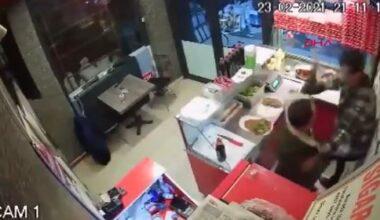 Çiğ köfte 'acılı' diye işçiye saldırdı