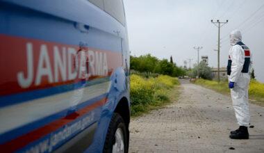 Gaziantep'te 187 ev karantinaya alındı