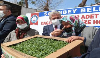 Gaziantep'te çiftçilere destek