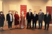 Başkan Şahin, Beştepe'de sergiye katıldı